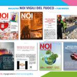 """Creatività e impaginazione """"Noi Vigili del Fuoco"""" rivista ufficiale del Ministero dell'Interno"""